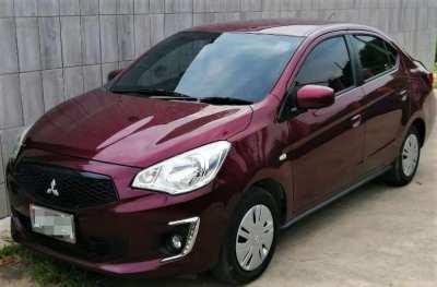 09/2019 Mitsubishi Attrage 1.2 CVT 289.900 ฿ 22K km Easy Finance