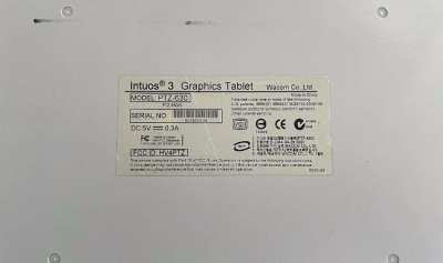 Wacom Intuos 3 A4 Graphic Tablet PTZ 630