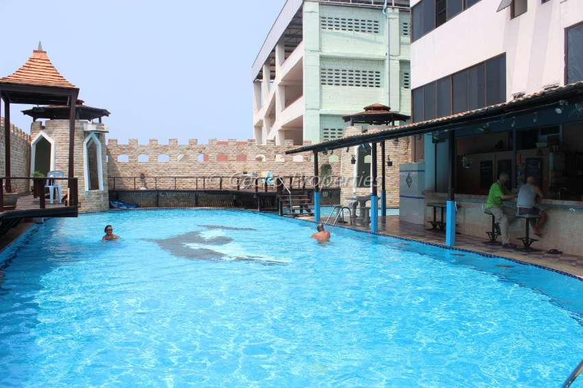 Hight floor 1 bed 1 bath condo for rent in South Pattaya
