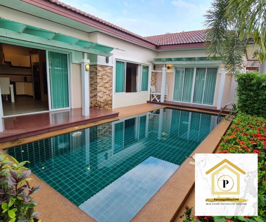 Beautiful house for sale 4.5 MB in Huay yai Pattaya City