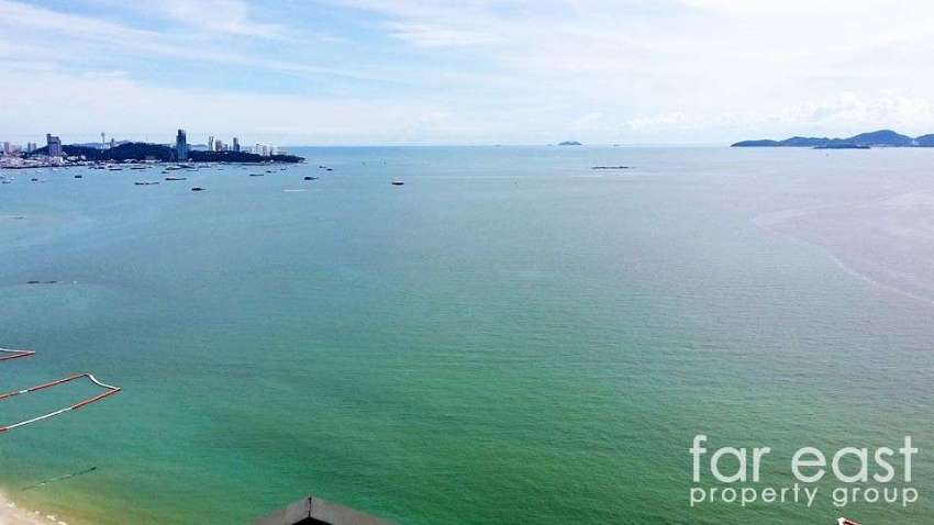 Wongamat Tower - This View For Only 10,000 Baht/Month!