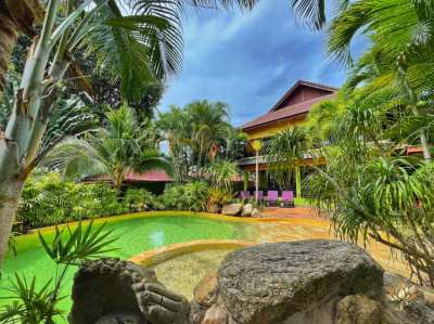 BOPHUT .RESORT WITH 5 BUNGALOWS + 2 BEDROOM HOUSE