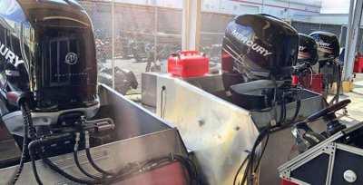 USED Mercury Four Stroke outboard Motor Engine