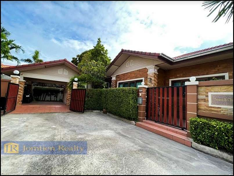JR-HS1048  Tropical  Island  Style  Home 3 Bedrooms  at Hauy Yai