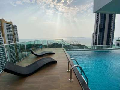 All offers welcome for this high floor 1 bed condo in Pratumnak
