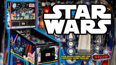 Star Wars Comic Art Pin : For Sale