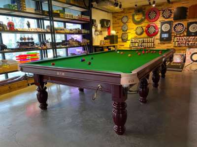 Star Brown Snooker Table 12ft 107-12S for Sale