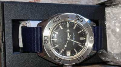 Diving automatic watch 200m and 31 jewels Amphibian Vostok