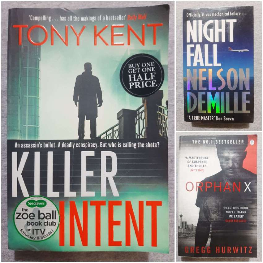 Thrillers / Crime - An Eclectic Mix