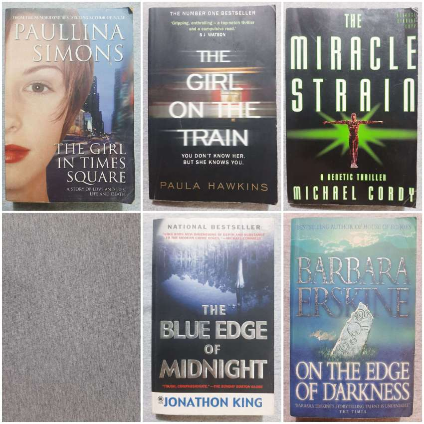 Cheap Reads; A Fair Mixture, Mostly Thrillers