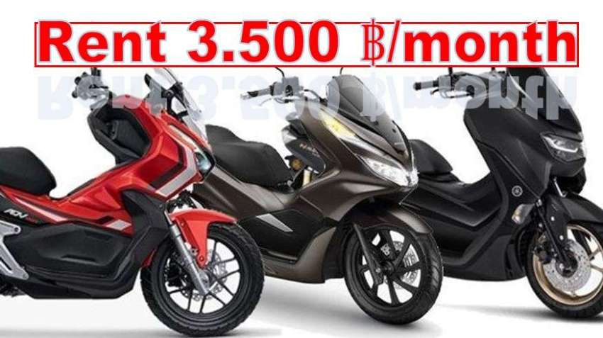 Rent Honda ADV150 - PCX150 - New Yamaha N Max 155 (2020) 3.500 ฿/month
