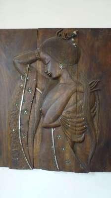 Beautiful Thai wood carving