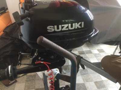New Bic Sportyak 245 with new Suzuki DF2,5 fourstroke