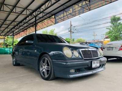 ขายรถ Mercedes Benz E230 2.3 W210 Elegance AT ปี 1998  รถพร้อมใช้
