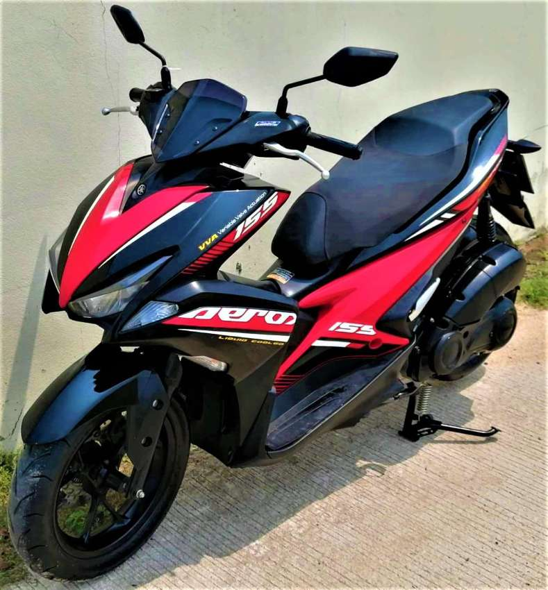 12/2019 Yamaha Aerox 155 42.900 ฿ Easy Finance by shop