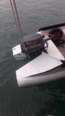 Yamaha 15 HP Enduro , shortshaft