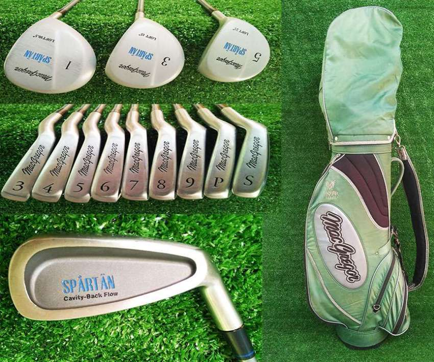 Open to offers/เปิดรับข้อเสนอ for MacGregor golf club set in bag