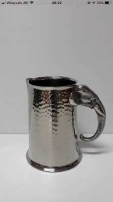 Stainless Still cup made by hand 1,400 baht