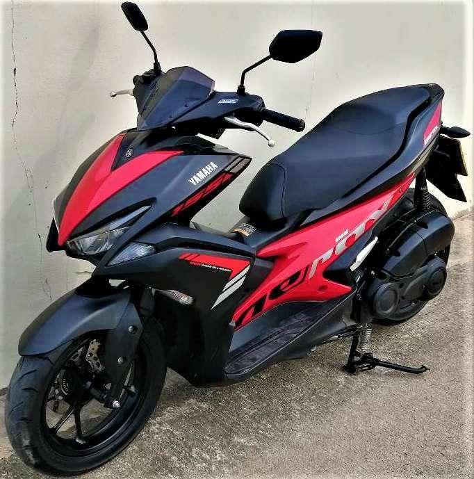 06/2018 Yamaha Aerox 155 37.900 ฿ Easy Finance by shop