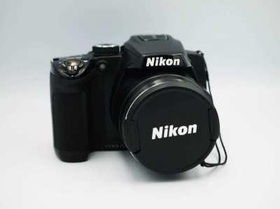 Nikon Coolpix P500 36x Wide Angle Optical Zoom NIKKOR ED Glass Camera