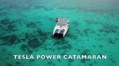 Electric Yacht Catamaran