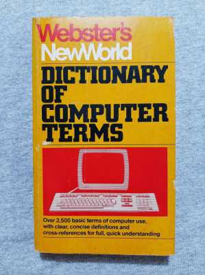 Collectors! - Webster's New World Dictionary of Computer Terms (1983)