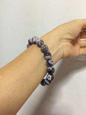 Natural Amethyst  bracelet 380 baht