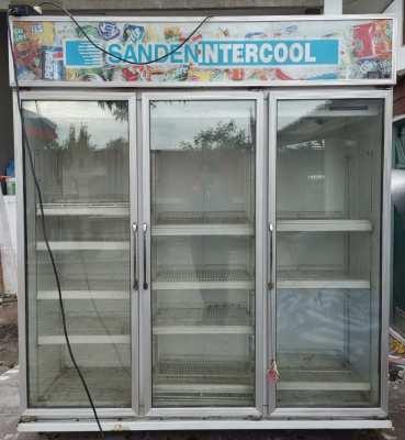ตู้แช่ SANDEN INTERCOOL 3 ประตู สภาพพร้อมใช้งาน