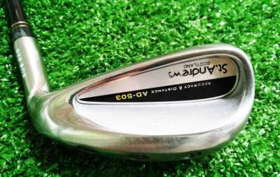 St Andrews Scotland AD 503 weighted sand wedge