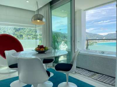 Modern Panoramic Sea View Apartment for Sale located in Patong-Kalim