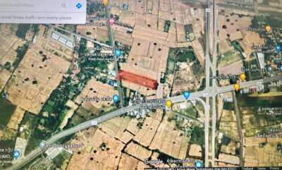Main road land for sale in Surin
