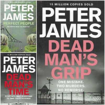 Peter James - Various Novels; As New