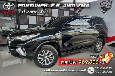 Toyota Fortuner เครื่อง 2.8  4WD ZM4