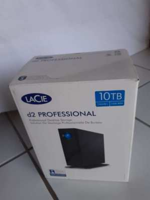COMPLETELY NEW UNUSED LACIE PROFESSIONAL 10TB USB 3.0 EXTERNAL HDD
