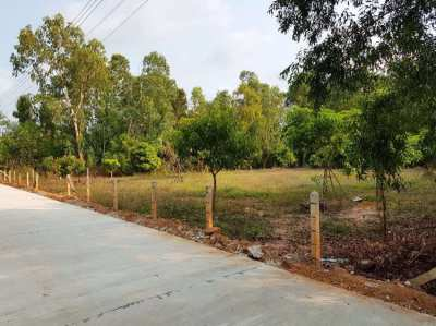 Great location for this 1 rai land close to Mae Ramphueng beach!