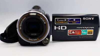 SONY HDR-CX550V 64GB 12MP Handycam® Built-in GPS, Flash, Sony G lens