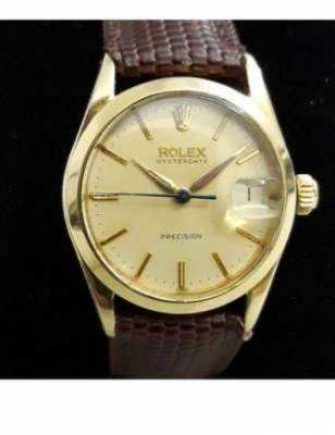 Rolex - Oysterdate Precision - Ref 6466  Rare Roulette Date Display