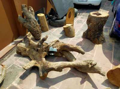 Assorted Wood Pieces Or Future Furniture