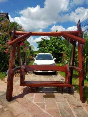 Wooden Garden Swing, New