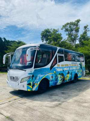 BUS for sale HINO 26 passengers