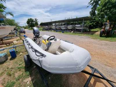 Dinghy 12ft with Yamaha 40hp + trailer