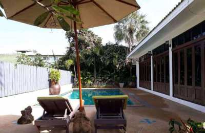 THAI STYLE HOUSE 3 BEDROOMS FOR SALE - CHOENGMON