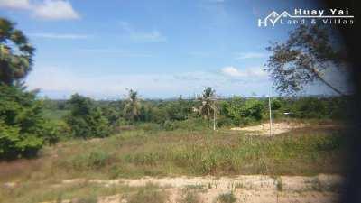 #1333  18+ rai Huay Yai Hillside land between Route 7 and 331