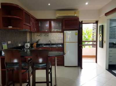 Furnished 2 bedroom condo on Mae Raphueng beach. Price 3,500,000 THB!