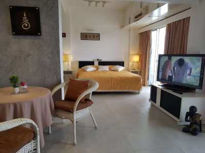 Sea view ,53m2 sea view new decorated 12.000B month or BUY CHEAP