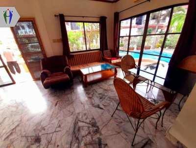 Pool Villa for Rent in Pattaya, Soi Khaotalo.