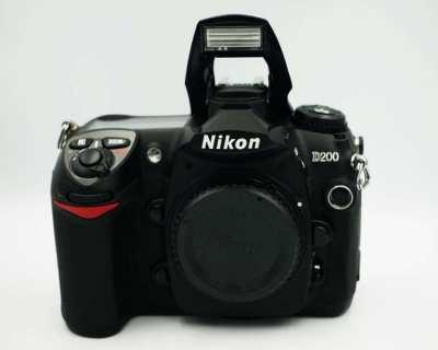 Nikon D200 Semi-Professional Digital SLR Camera Body DSLR