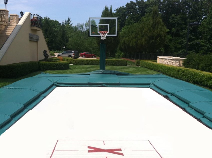 Exclusive Red Bull Custom Trampoline, Made in the USA