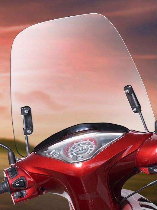 Motorbike windshield