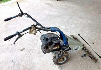 Lawn bar mower
